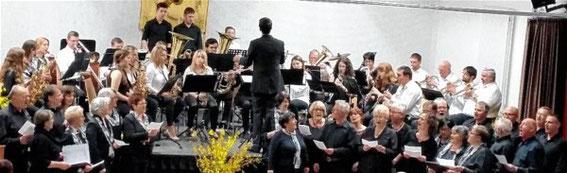 Chor und Orchester - Jahreskonzert 2016 - Dirigent Johannes Haaf