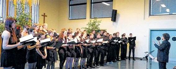 Kammerchor im Orgelsaal - 2014