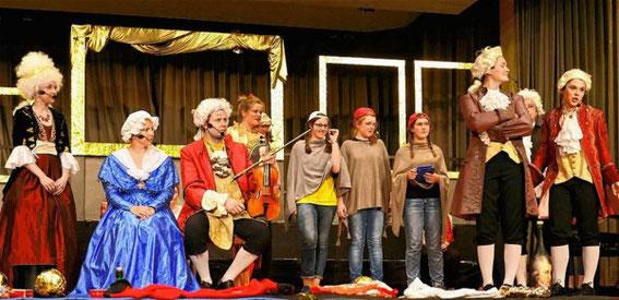 """SV Mellrichstadt - Musical """"Motzi & Arti"""" - Leitung: Marianne Klemm - 2016"""