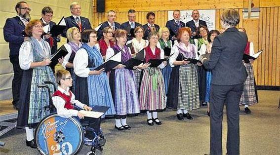 Umrahmung - Gruppenversammlung in Burglauer 31.10.14