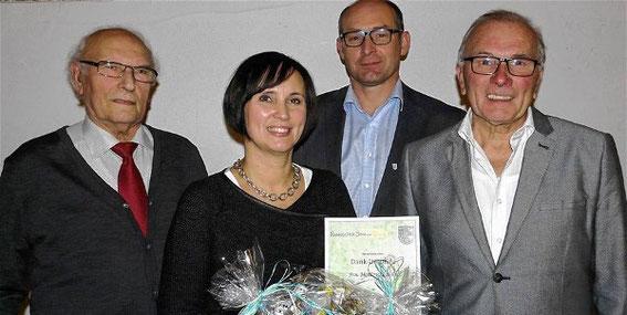 Ehrung - 20 Jahre Chorleitung - Martina Koch-Voll - 2015