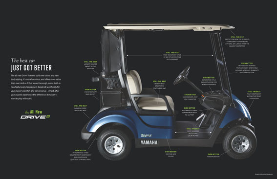 Yamaha Golf Cars - Dart's Carts