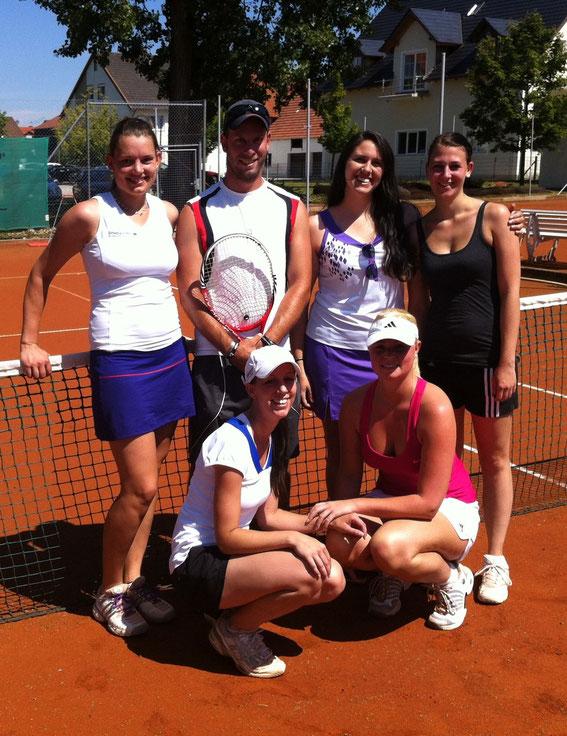 Damenmannschaft 2012