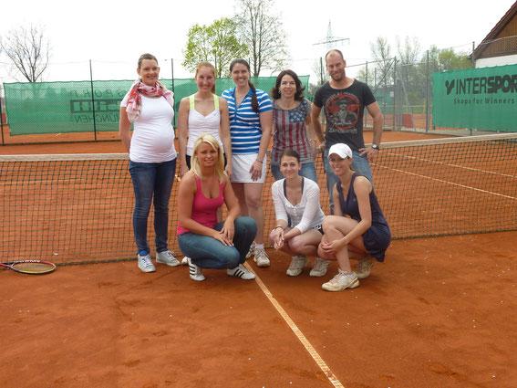 Damenmannschaft 2013
