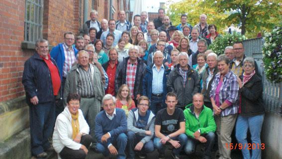 Gruppenfoto der Reisegruppe vom TK Effeld