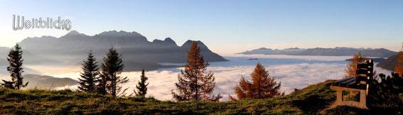ANN01 - Loseggbankerl im Herbst mit Blick zum Tennengebirge