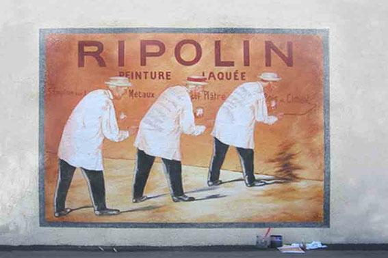Reproduction ancienne Publicité Ripolin