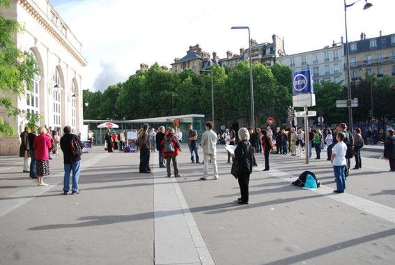 le premier cercle a eu lieu le 28 mai 2008