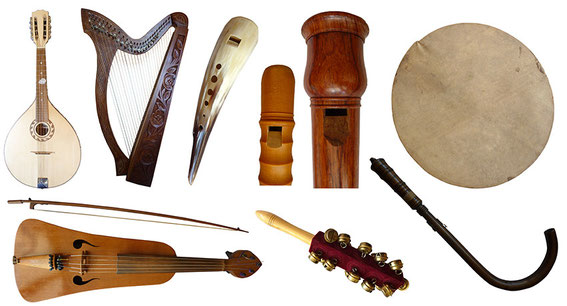 instruments médiévaux