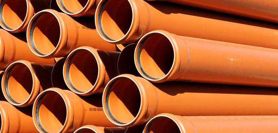 Druckprüfung für Abwasserrohre - Kunststoff
