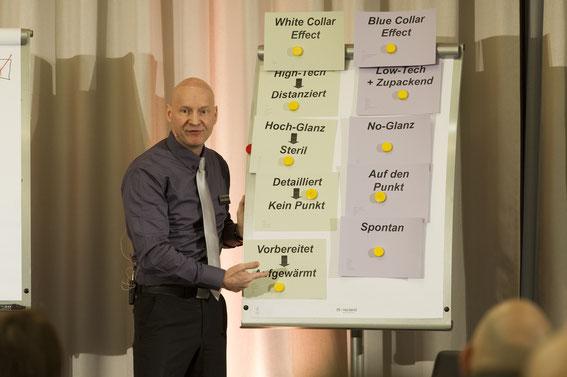 Präsentationstrainer in Präsentationstrainings
