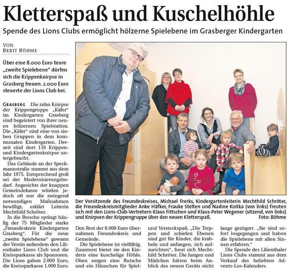 Quelle: Osterholzer Anzeiger 15.1.2014