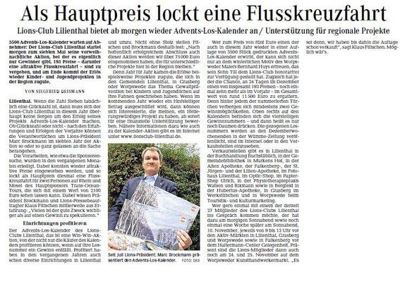 Quelle: Wümme-Zeitung vom 2.11.2012