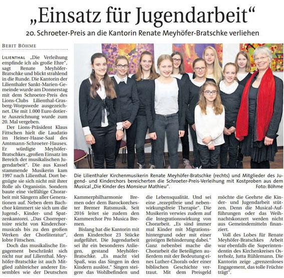 Quelle: Wümme Report vom 11.11.2018