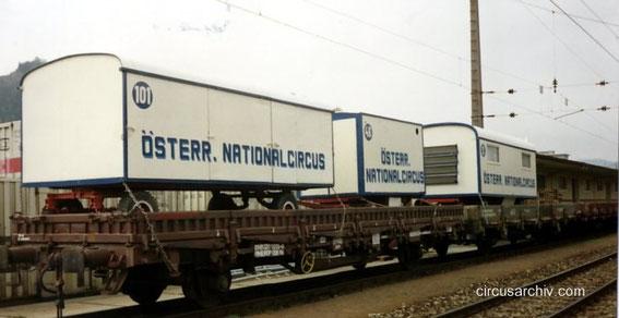 Circus auf der Bahn
