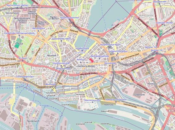 digitale Karten Open Street Map für GPS geräte