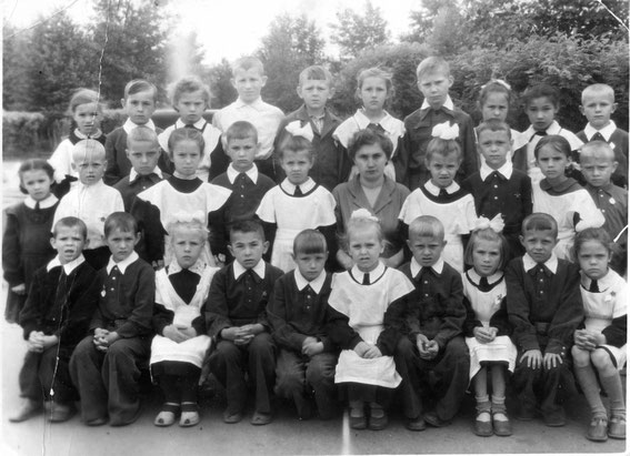1б класс 1 школа 1961 год