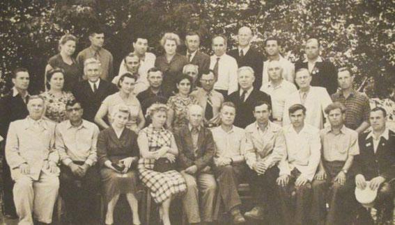 1958 г. Первостроители в Детском парке Салавата
