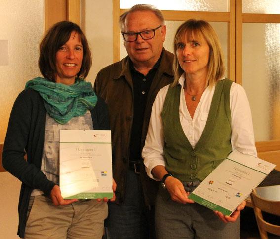 Margit Gaus, Rüdiger Borchert und Ariane Detzel (v.l.)
