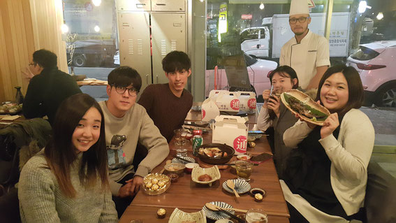 会食2次会(2016年12月9日)