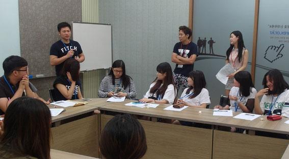 第5回日韓中高生フォーラムの出国前オリエンテーション