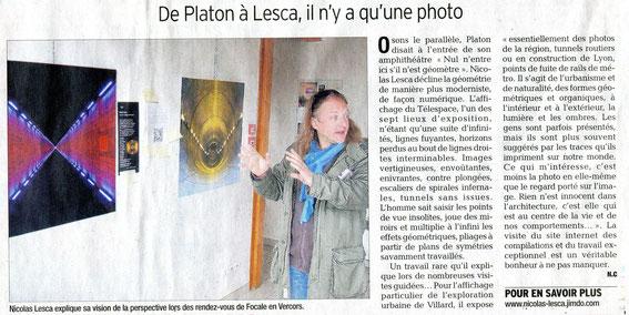 Le Dauphiné Libéré, samedi 11 mai 2013, p.15