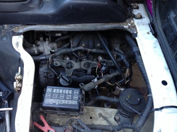 ハイゼットのエンジン