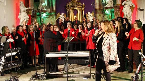"""20 Jahre Belcanto - Konzert mit Kathy Kelly und  """"Main Voices""""  -2019"""