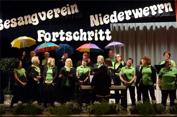 Beim Herbstkonzert in Niederwerrn - 2015