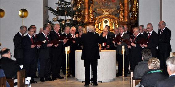 Jubiläumschor - MGV 1920 Waigolshausen -Dreikönigskonzert  der Sängergruppe 2020