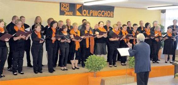 Serenade - 25 Jahre Kolpingchor - 31.5.14