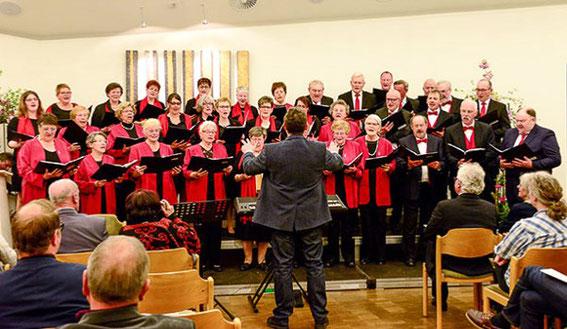 Jubiläumschor -50 Jahre  (mit Liederkranz Gerolzhofen) -Leitung: Edgar Sauer - 2017