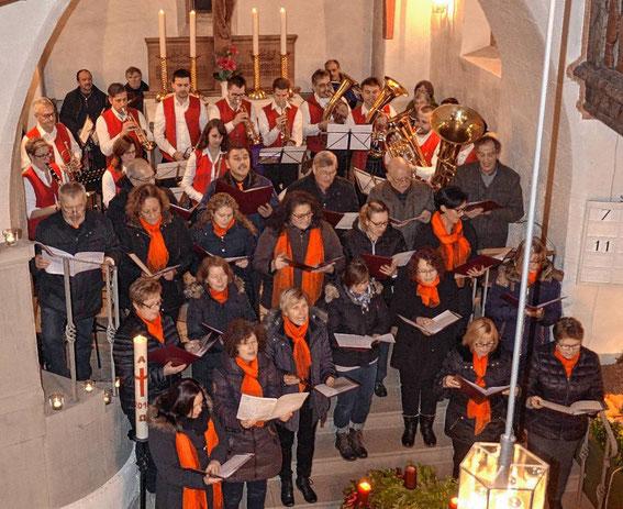 Adventskonzert mit den Heiligenbergmusikanten - 2016