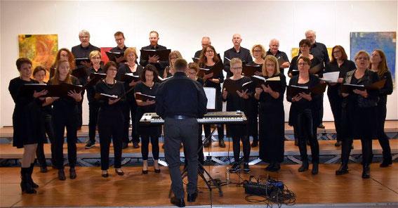 PopChor´n - Leitung: Christopher Kuhn -Konzert im Pfarrer-Hersam-Haus  -19-10-2019
