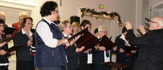 Liederabend in der Alten Amtsvogtei  02-12-2017 - Leitung: Roland Kolb