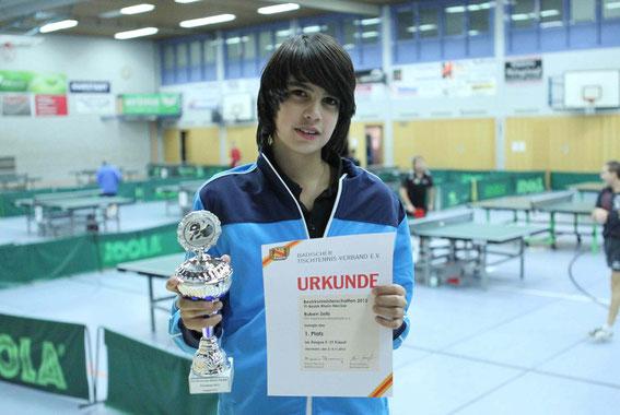 Bezirksmeister A-Schüler (Jungen U15): Ruben Zeitz