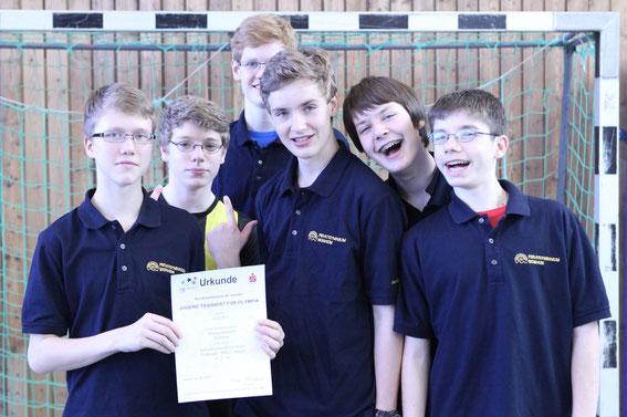 1. Platz WK II/1: Privatgymnasium Weinheim