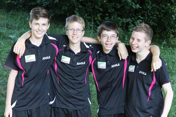 1. Jugend 2013/14: Meister der Verbandsliga
