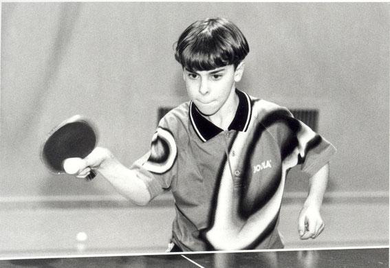 Ulf Mertens war der erste TTVler, der 1999 am Talentprogramm des DTTB teilnahm.