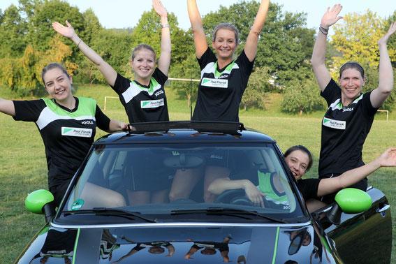Zweite Damenmannschaft in ihrem dritten Badenligajahr
