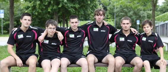 Der TTV Weinheim-West startet mit einem extrem jungen Team in die Herren-Verbandsliga