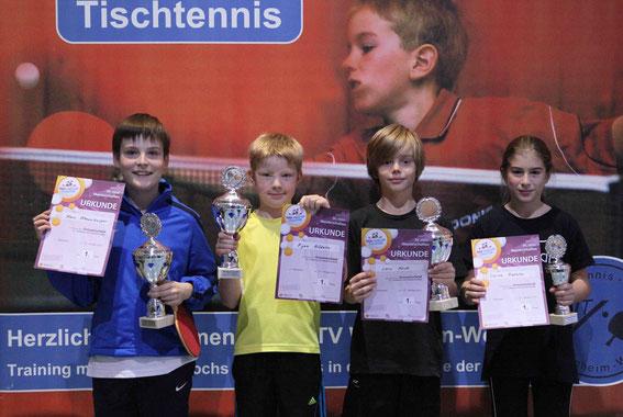Sieger der Mini-Meisterschaften