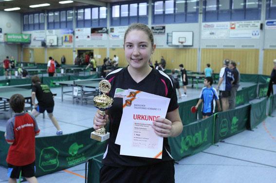 Bezirksmeister Mädchen: Heike Fuhrmann