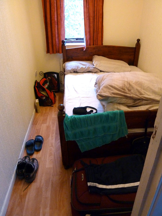 "Sprachreise im August 2011: meine ""Luxus"" Suite in Lewisham, Morden Hill"