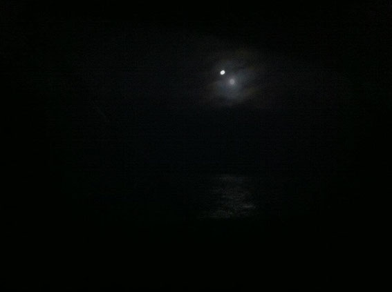 Full Moon over Forney's Cove...