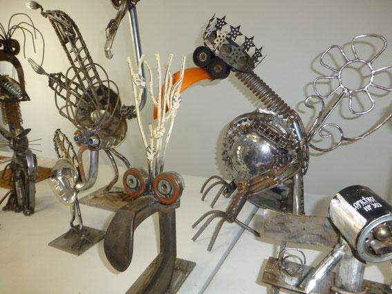 Le bel art à part de Michel FLOCK, à découvrir sur son site...