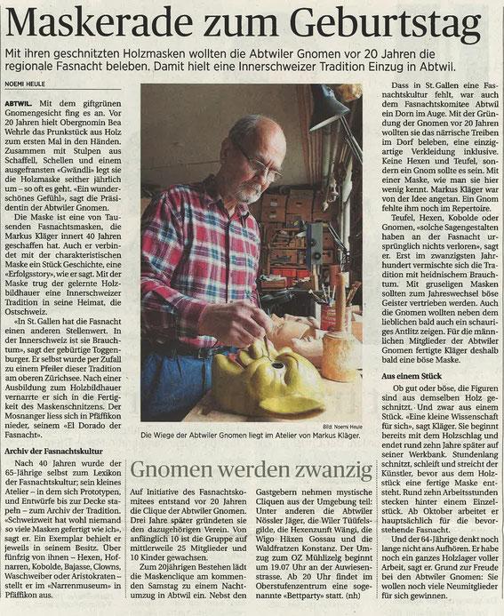 Unser Maskenvater - Markus Kläger
