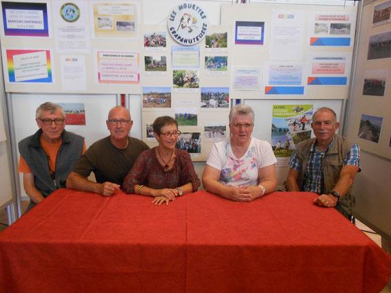 Le stand est prêt pour la version 2015 du forum des associations