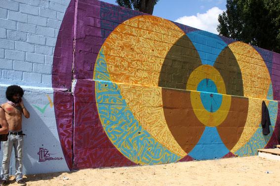 Mural Alter paname / Bobigny