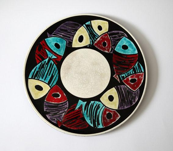 Hugo Kohler Keramik Teller